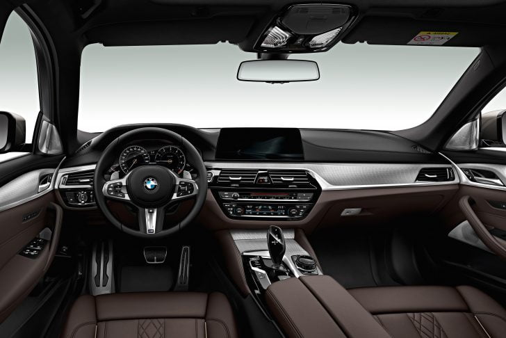bmw 5 automotive seating profiles