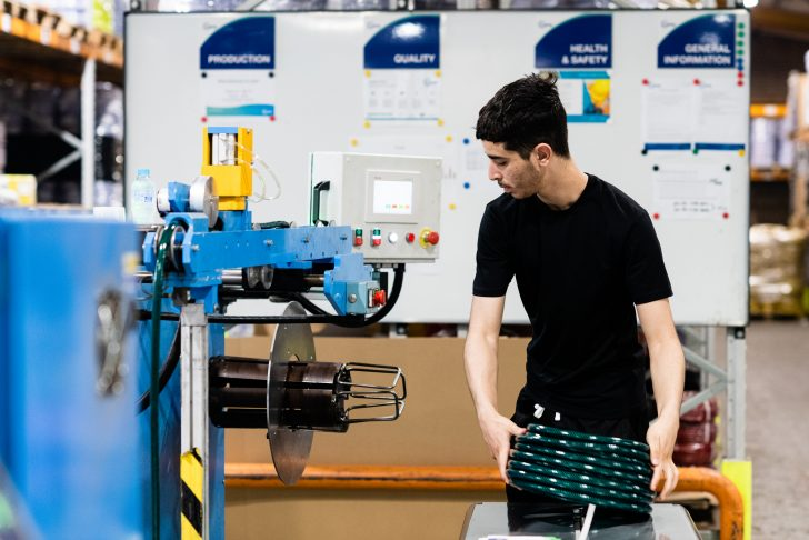 Copely Hose Pipe Production
